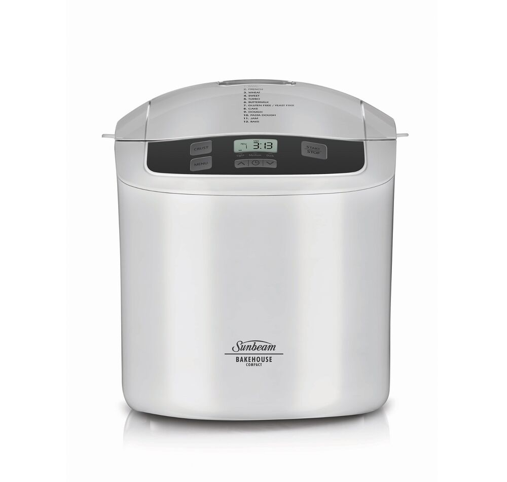 Sunbeam BM2500 Compact Bakehouse® 750g Bread Maker with ...