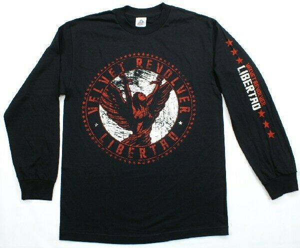 Velvet Revolver Libertad Album Long Sleeve T-Shirt SLASH