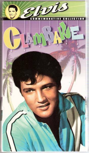 '67 ELVIS PRESLEY Movie CLAMBAKE VHS (with theatrical ...