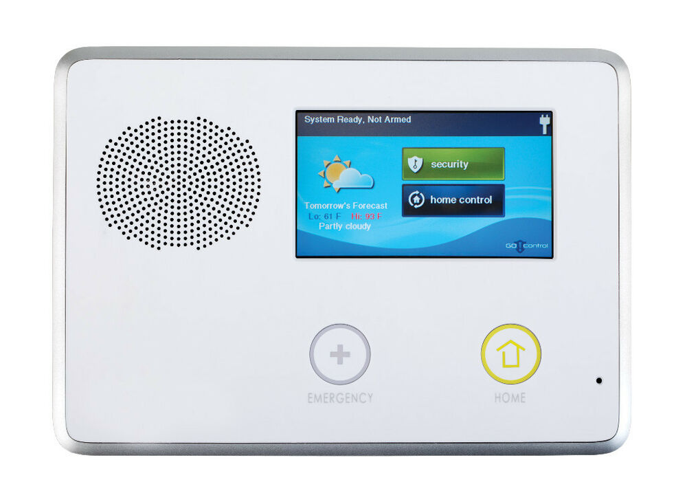 2gig Cntrl2 Alarm Panel Touch Screen With Built In Z Wave