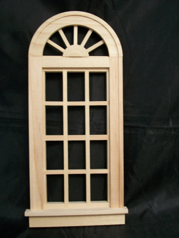 Oversized Church Window Miniature Dollhouse 95014 1 12