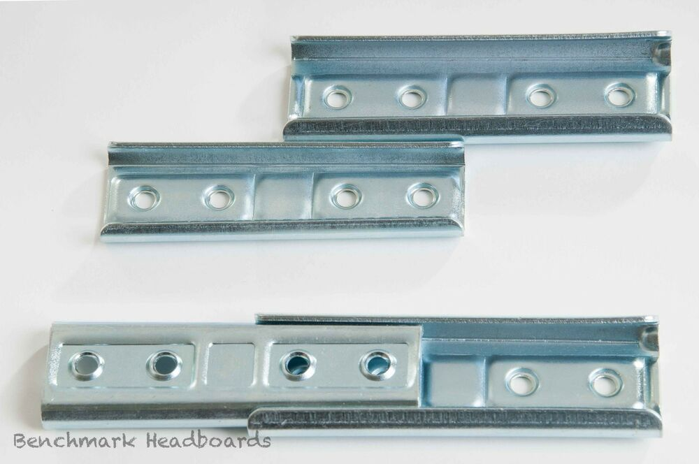 invisible wall mounting headboard brackets fittings 2