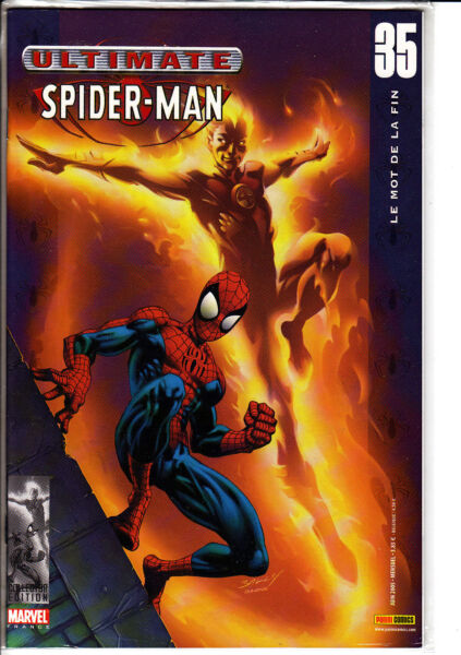 ULTIMATE SPIDERMAN   N°  35  MARVEL FRANCE   PANINI