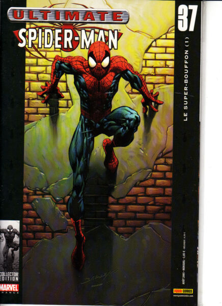 ULTIMATE SPIDERMAN   N°  37  MARVEL FRANCE   PANINI