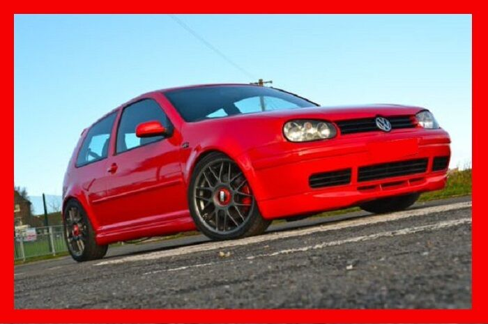 vw golf mk4 mk iv 4 body kit fr re ss 25. Black Bedroom Furniture Sets. Home Design Ideas