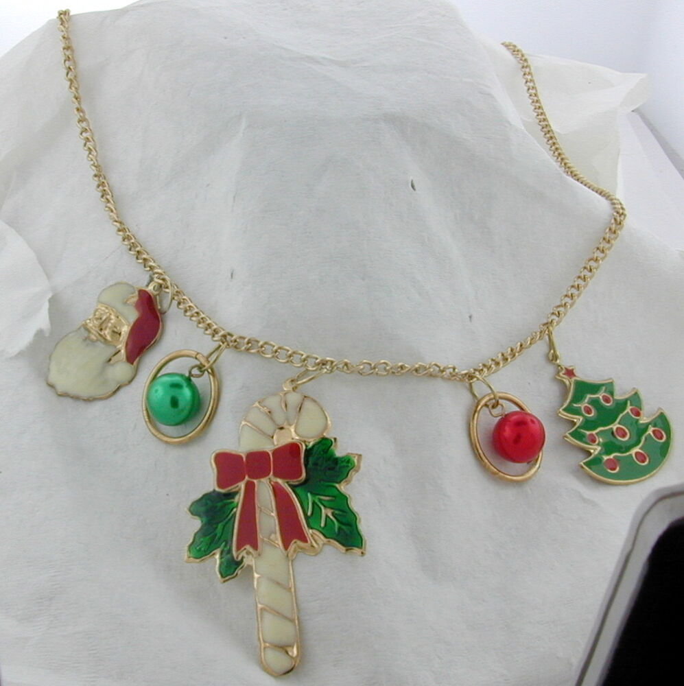 christmas necklace with flashing lights