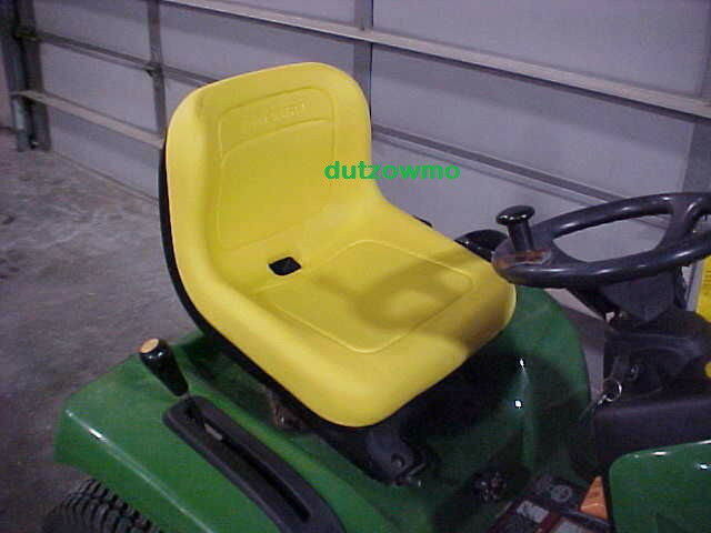 Metal Tractor Seat Replacement : New replacement seat for john deere lx gt