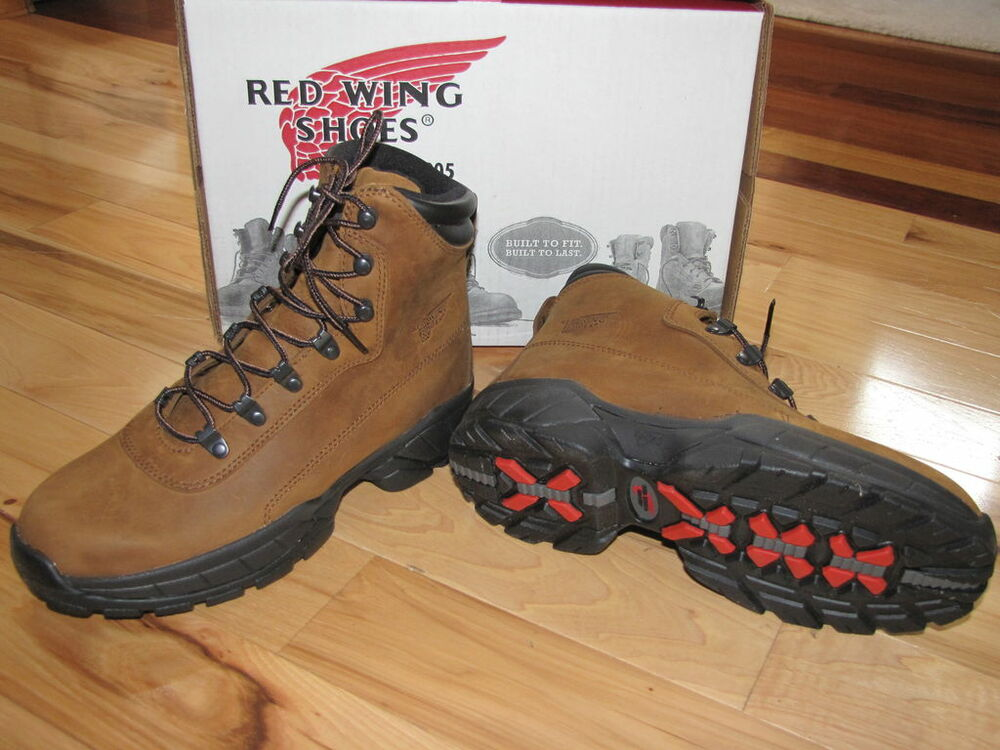 RED WING WORK HIKING BOOT 8481 NEW WOMENS INSULATED WATERPROOF ...