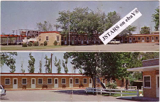 c 1969 new ulm mn new ulm motel postcard ebay. Black Bedroom Furniture Sets. Home Design Ideas