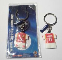 ARSENAL Key Chain VAN PERSIE Ring TIGER BEER MALAYSIA 2006 Champions League