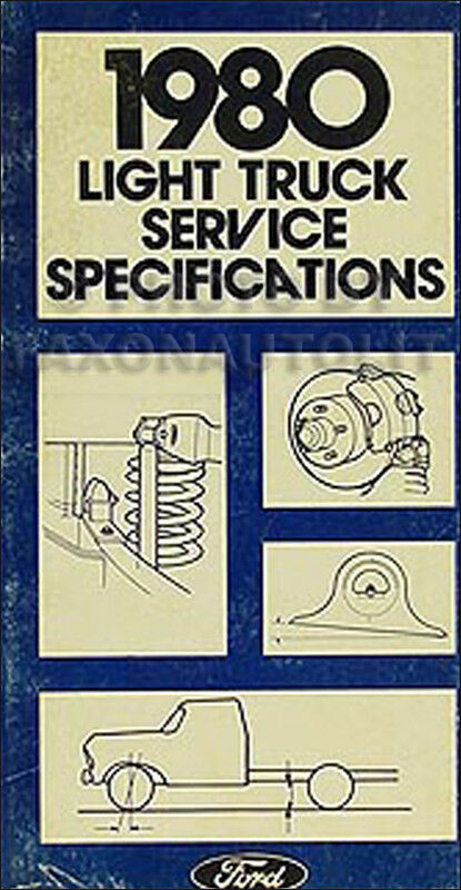 95 ford f700 wiring diagram 1980 ford pickup truck service specification manual f100 ... 86 ford f700 wiring diagram #14