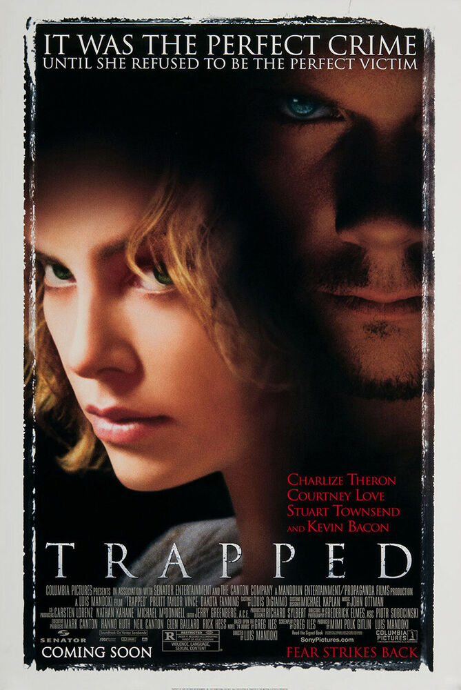 TRAPPED MOVIE POSTER 2 Sided ORIGINAL ROLLED 27x40 ...