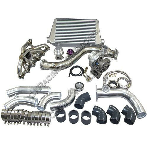 Bmw S85 Twin Turbo Kit: CXRacing Turbo Intercooler Downpipe Catback Kit For 84-91