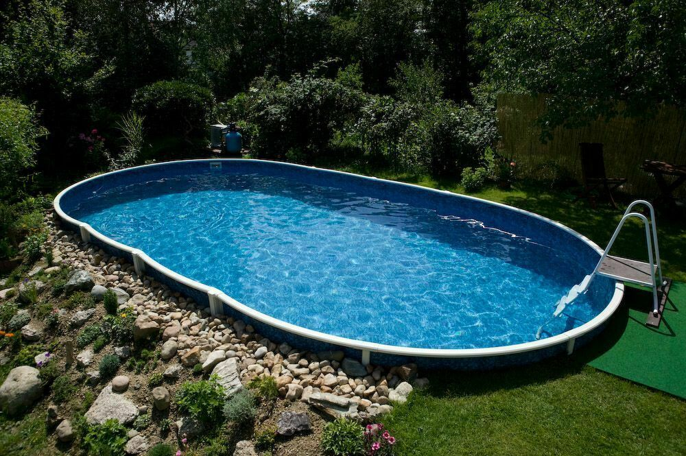 Ovalbecken swimmingpool 7 30 x 3 70 x 1 20m stahlwand pool for Stahl pool oval
