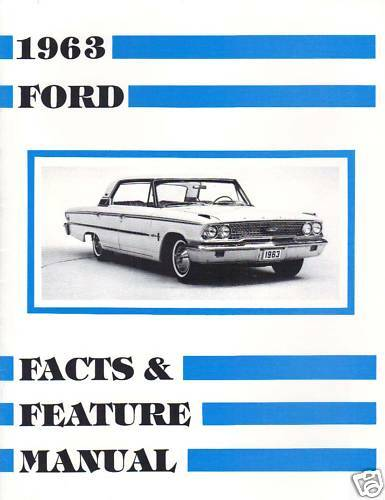 1963 ford galaxie facts   feature manual ebay ford galaxy workshop manual free download workshop manual ford galaxy pdf