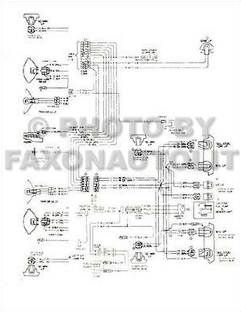 1976 Chevy Chevette Foldout Wiring Diagrams Electrical Schematic