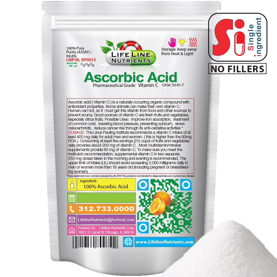 Where To Buy Ascorbic Acid Powder In Australia