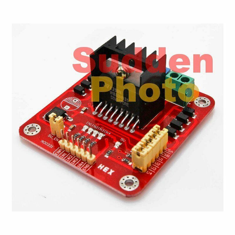 L298n stepper motor driver controller board for arduino ebay Arduino motor control board