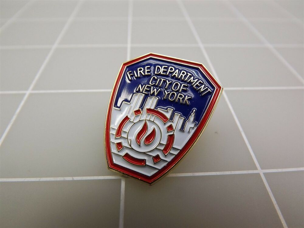 new fire department city of new york lapel pin new ebay. Black Bedroom Furniture Sets. Home Design Ideas
