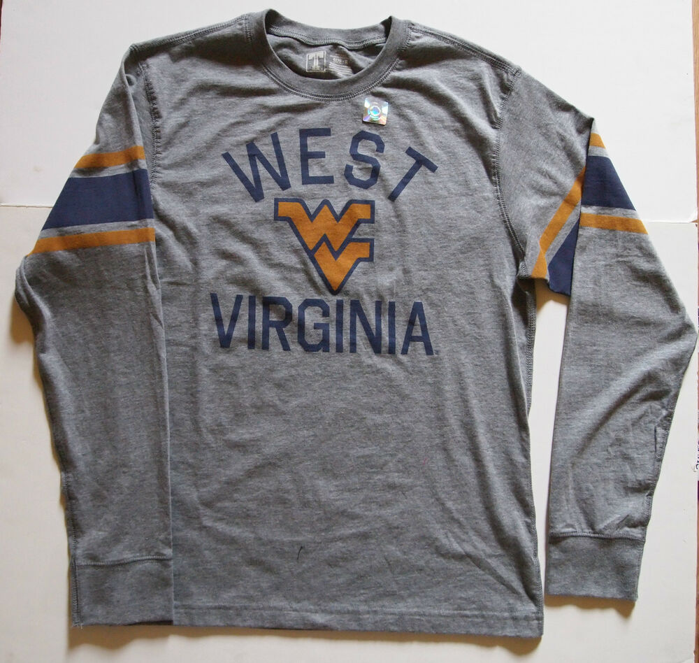 Nwt old navy mens west virginia university long sleeve t for Uva long sleeve t shirt