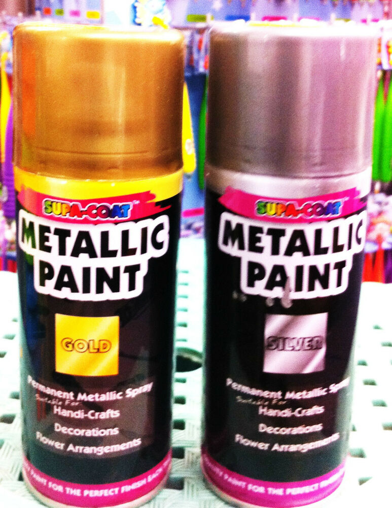 Gold Spray Paint Silver Spray Paint Metallic Spray Paint Aerosol Spray Paint New Ebay