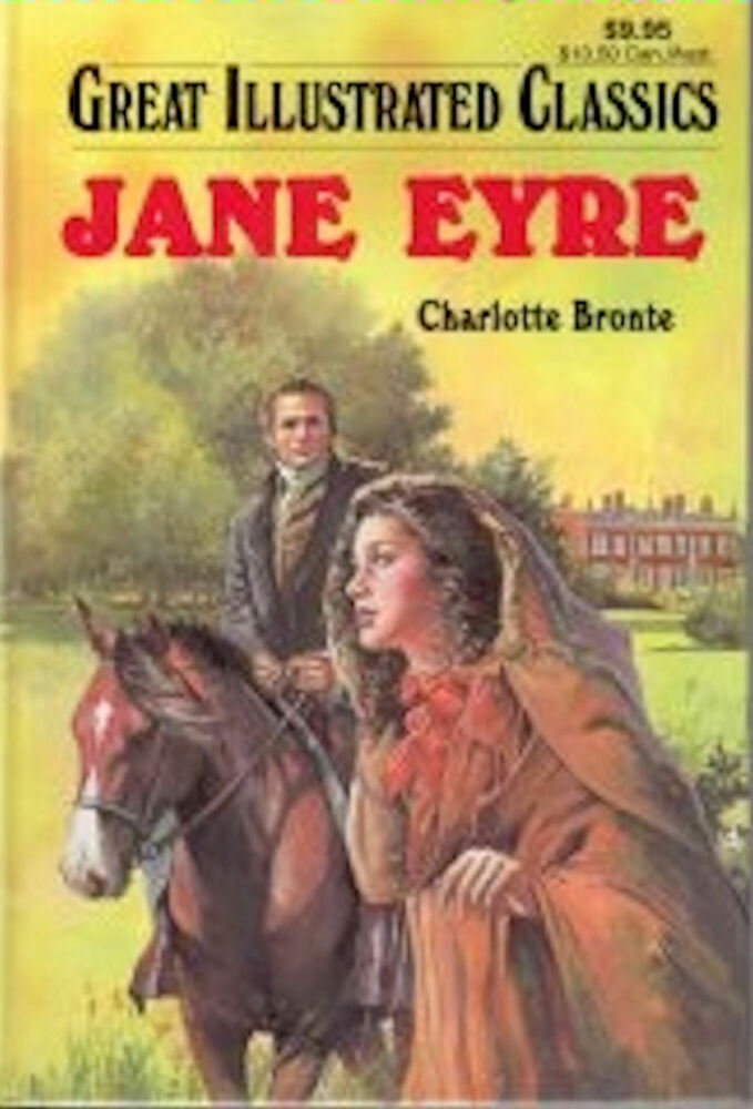 Good Illustrated Book Covers : Great illustrated classics jane eyre by charlotte bronte