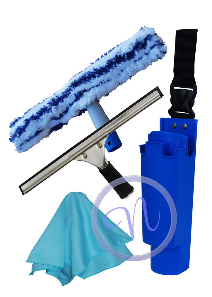 14 Quot Window Cleaning Squeegee Washer Xl Cloth Amp Bucket On