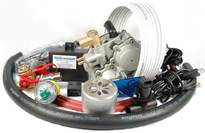 MILLENNIUM CNG CONVERSION KIT FOR 4 CYL FUEL INJECTED ...