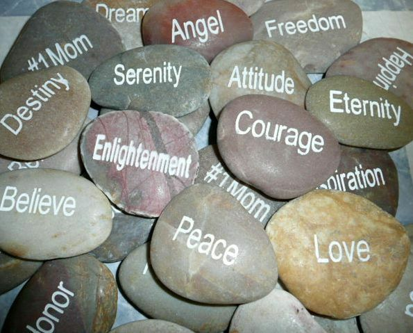Engraved River Rocks You Choose Sayings Quotes Rock