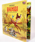 1969 Walt Disney's BAMBI Story and Songs Disneyland Records ST 3903 w/ Book