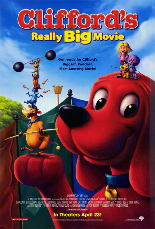 CLIFFORD'S REALLY BIG MOVIE MOVIE POSTER ORIGINAL 27x40 | eBay