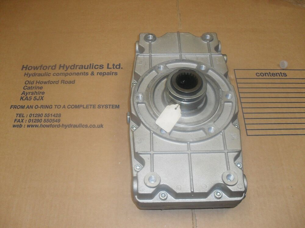 Tractor Pto Pump : Tractor pto twin pump gearbox for group