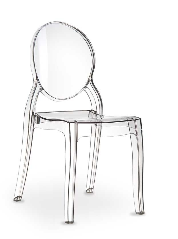 Plexiglas acryl ghost chair victoria elizabeth stuhl for Designer stuhl transparent