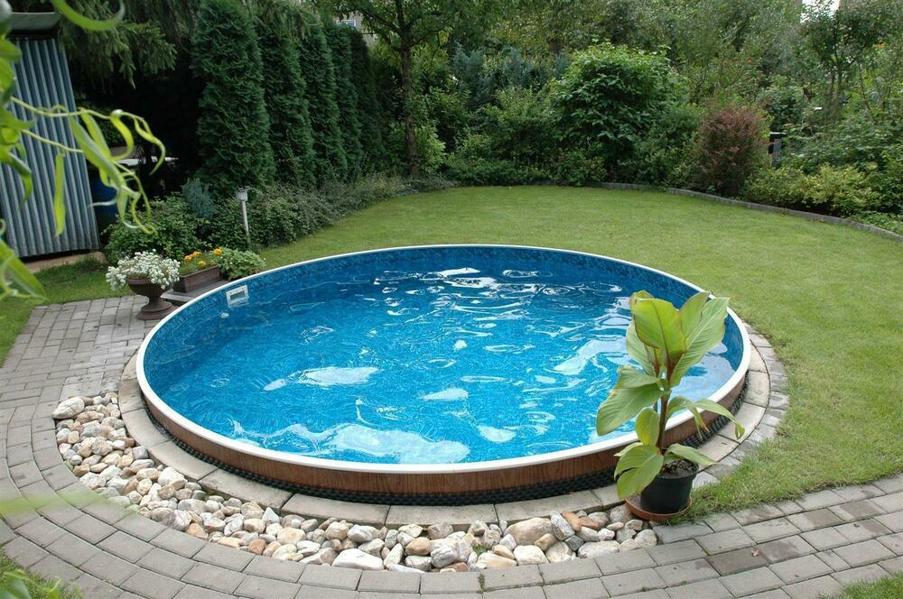 schwimmbad pool stahlwandbecken rundpool 4 60 x 1 20 m schwimmbecken ebay. Black Bedroom Furniture Sets. Home Design Ideas