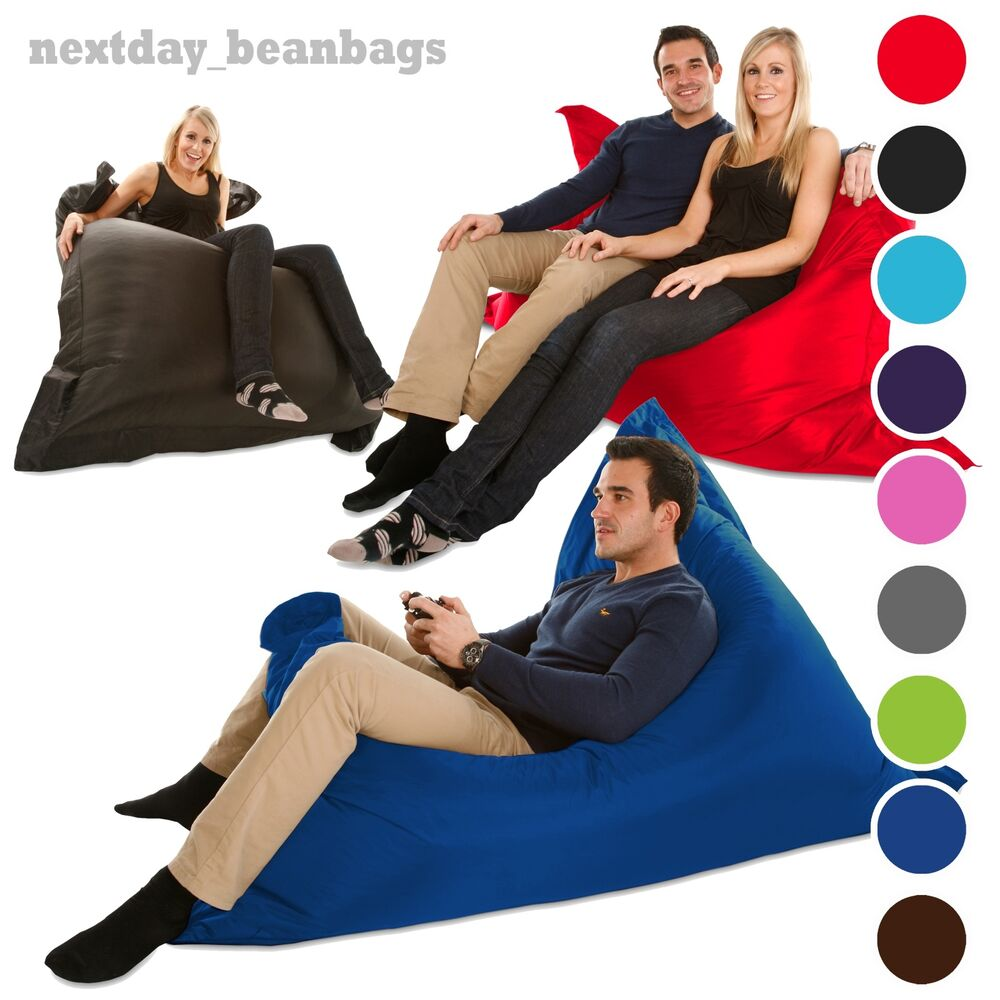 large bean bag giant indoor outdoor beanbag xxxl beanbags. Black Bedroom Furniture Sets. Home Design Ideas