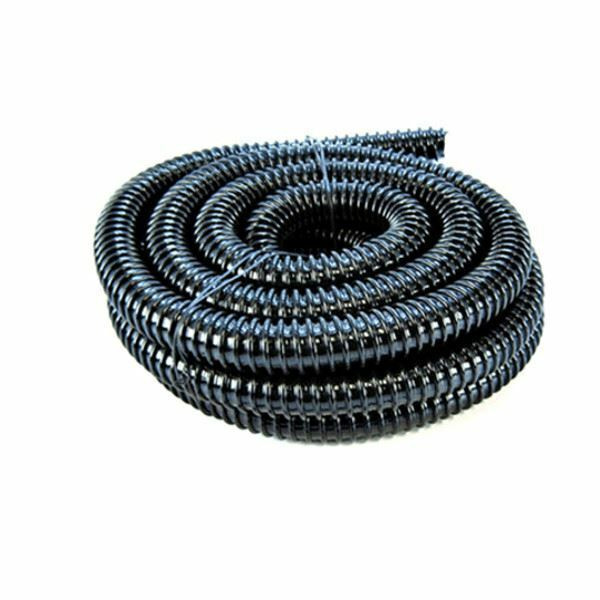 1 5 inch 40mm black corrugated flexible hose fish pond for Garden pond hose