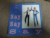 "Michael Jackson Say Say Say RARE 7"" Single"