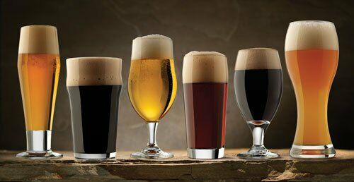 libbey glass 80681 6 piece craft brew beer tasting