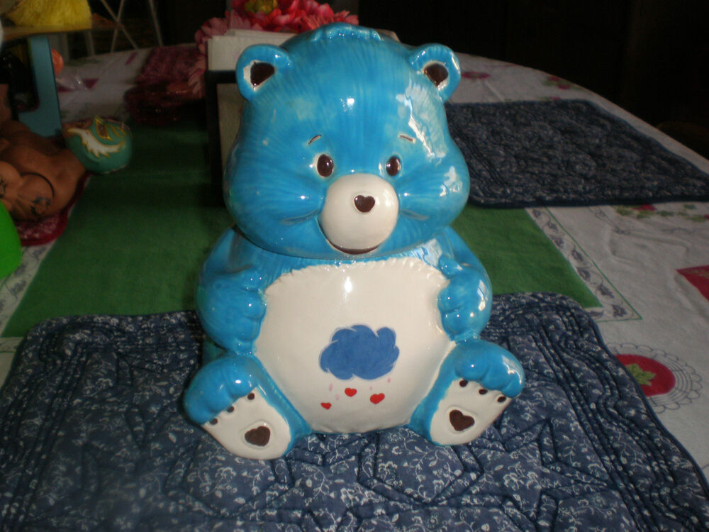 bear cookie jar vintage