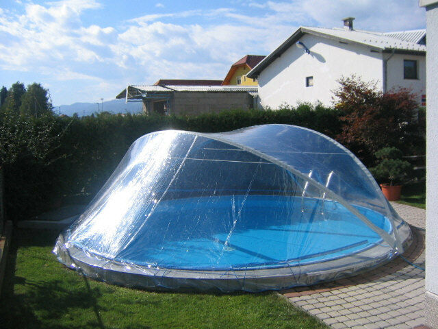 cabriodome pool berdachung poolabdeckung cabrio dome rund schwimmbadabdeckung ebay. Black Bedroom Furniture Sets. Home Design Ideas