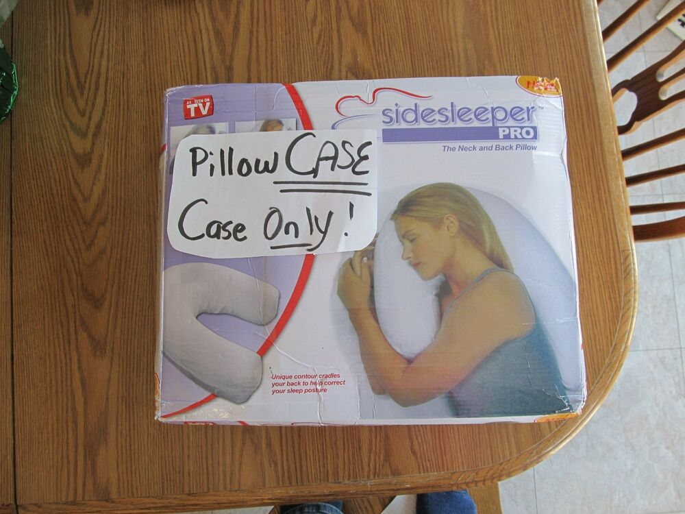 Cozy Side Sleeper Pro Pillow Case Ebay