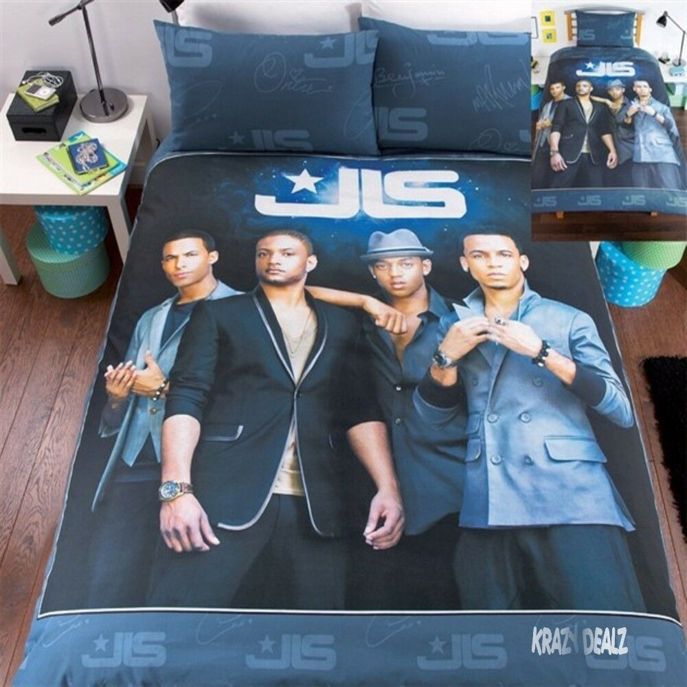 Jls Outta This World Double Duvet Cover Bed Set Aston