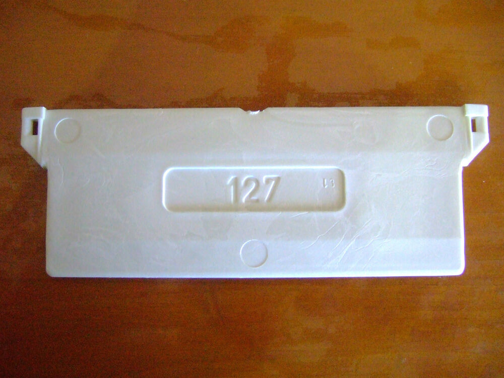 127mm Vertical Blind Bottom Weight Sample Parts For Slats