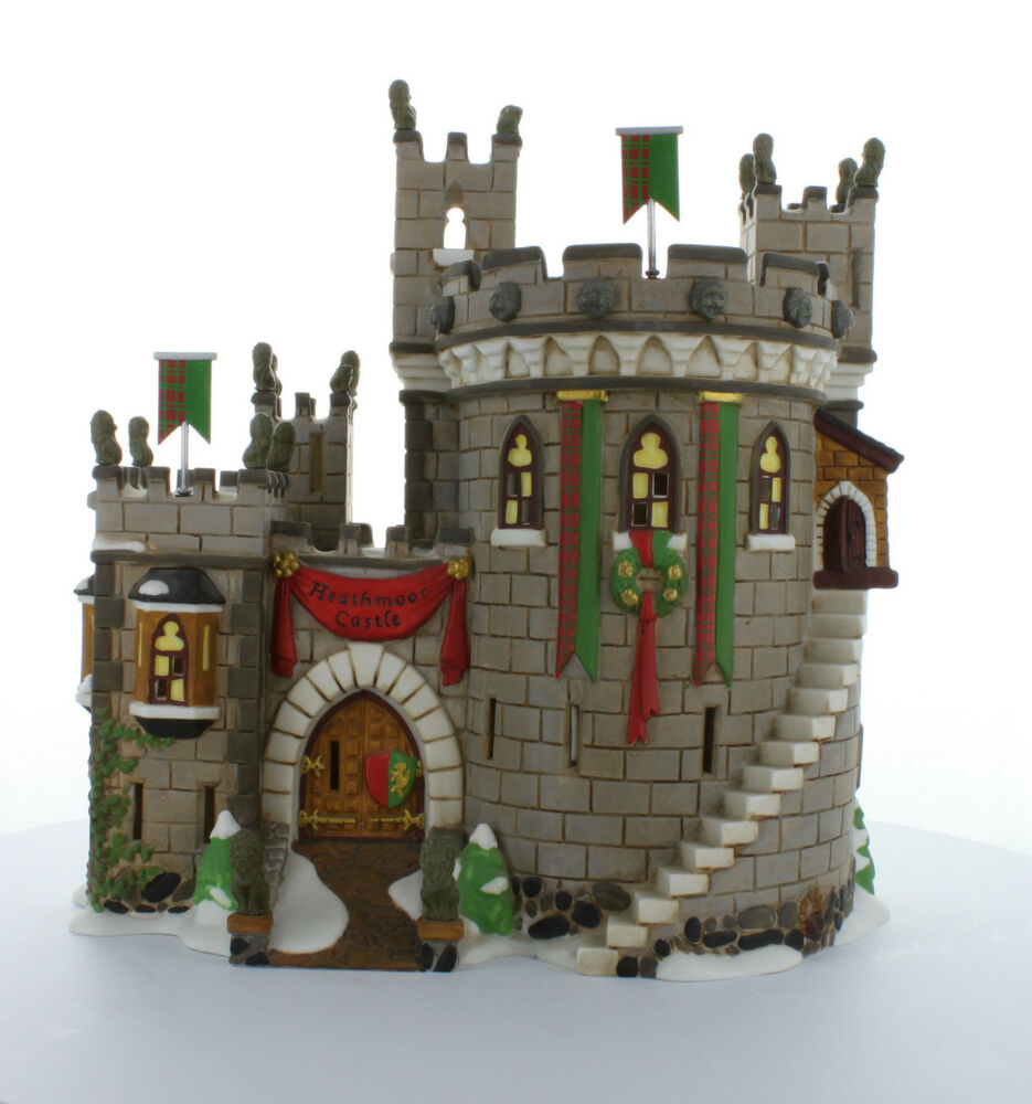 Heathmoor castle 1998 58313 retired department 56 dickens for Department 56 dickens village most valuable