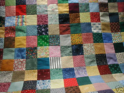 4-INCH SQUARES - BABY CHARM QUILT KIT- 31.5x42 IN eBay