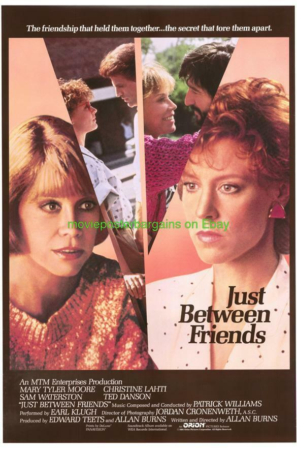 just between friends movie poster mary tyler moore
