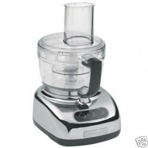 kitchenaid large 9 cup big food processor kfp740cr. Black Bedroom Furniture Sets. Home Design Ideas