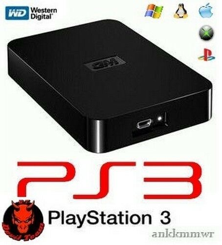 how to connect external hard drive to ps3