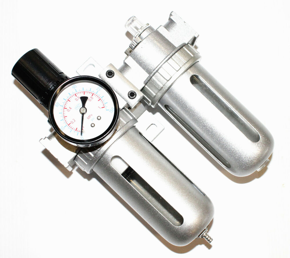 Oil Water Separator 1 4 Quot With Gauge Air Hose Filter Air