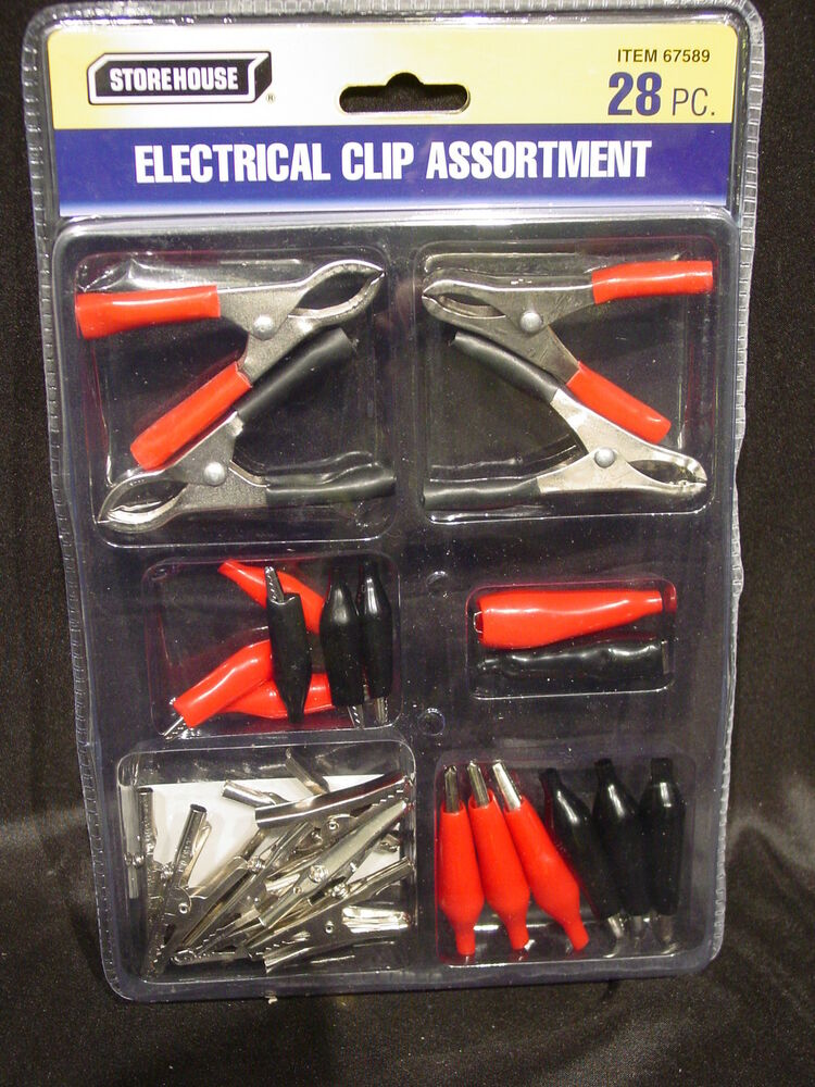 Alligator Clips Wire Connector Battery Terminal Assortment